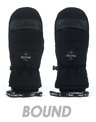1718 BOUND GLAM MITT GLOVE_BLACK
