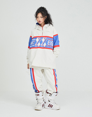 1819 windbreaker timetrack jacket white / 88 타임트랙 자켓 화이트