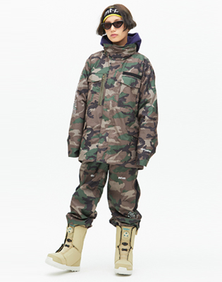 DIMITO 1819 WARDEN PANTS FROST CAMO 디미토 워든
