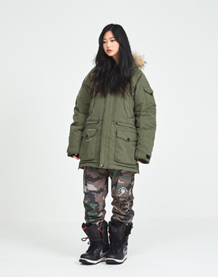 DIMITO 1819 TROOPER PANTS FROST CAMO 디미토 트루퍼