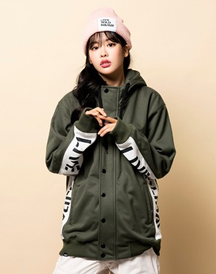 1819 홀리데이 방수자켓 player waterproof jkt khaki