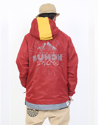 16/17 BUNCH HOOD JACKET * WINE