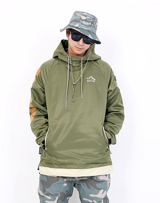 16/17 BUNCH HOOD JACKET * KHAKI